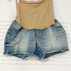 Jessica Simpson maternity secret fit belly shorts